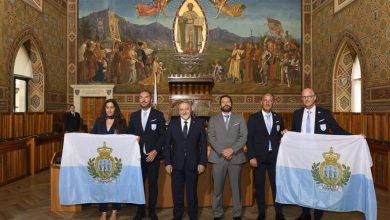 Photo of The delegation of San Marino presented • newsrimini.it