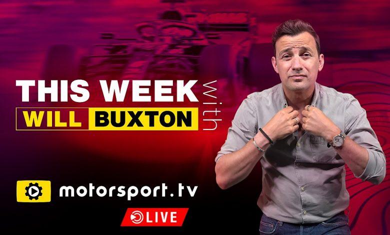 Il presentatore Will Buxton entra a fare parte di Motorsport.tv