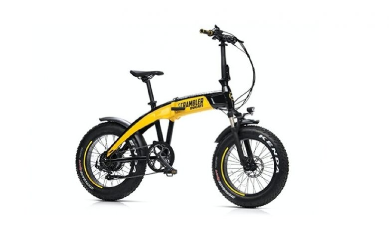 Ducati SCR-E, the foldable city e-bike (and more)