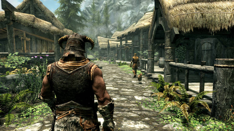 Skyrim: Discover a new effect after 10 years