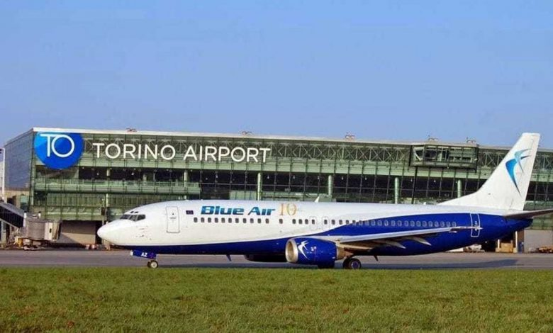Odyssey flight from Catania to Turin, the flight departs nine hours late due to a technical failure