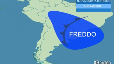 Photo of weather forecast.  A new wave of cold in South America, snow and freezing rain in Brazil «3B Meteo