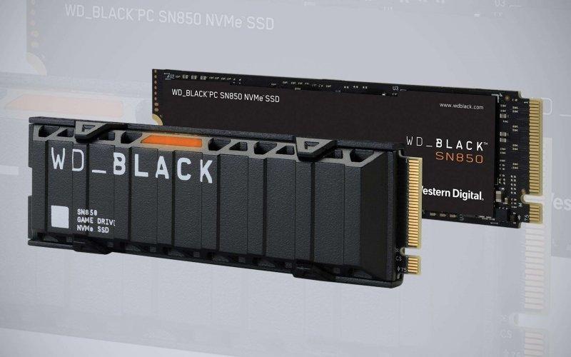 Western Digital Black SN850 SSD M.2