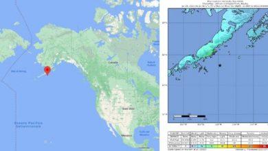 Photo of Alaska earthquake: Tsunami warning in the United States: shock magnitude 8.2