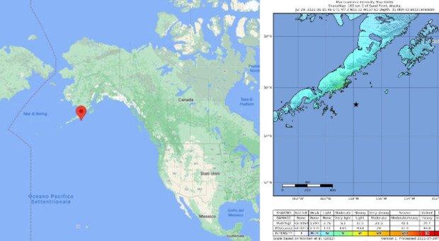 Alaska earthquake: Tsunami warning in the United States: shock magnitude 8.2