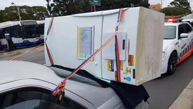 Photo of Amazing in Australia: Ride with the fridge in the trunk