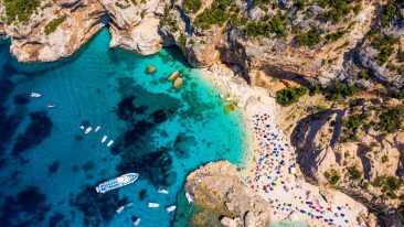 5 Legambianti and a Club for Excursions: the beaches and the cleanest seas in Italy