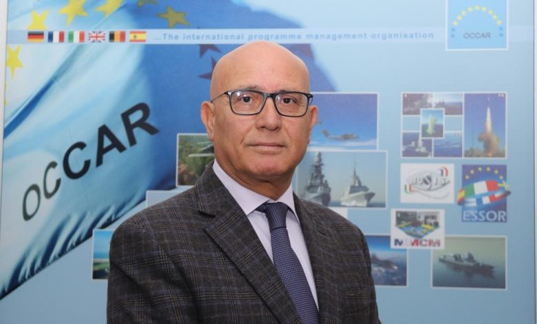 Aster missiles for Italy and the UK, OCCAR-EA Director Matteo Bisiglia signs the contract