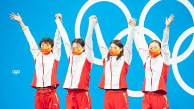Photo of Chinese 4×200 world record and gold – Australia third after USA