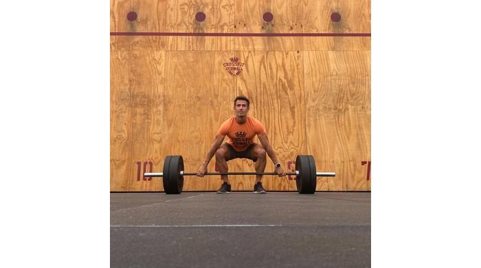 Crossfit, Antonio Boldrini of Ferrara at the World Championships in the United States