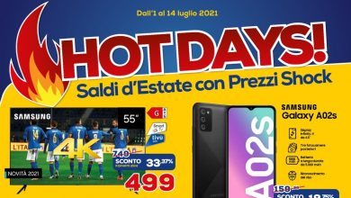 """Photo of Euronics Bulletin """"Hot days!""""  And """"Sottocosto Anniversario"""" until July 14: new promotions!"""