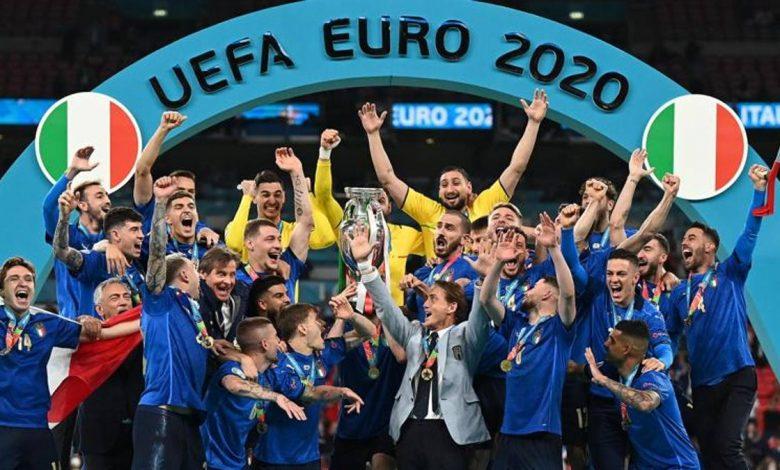 Europeans, the champion of Italy!  England were beaten on penalties