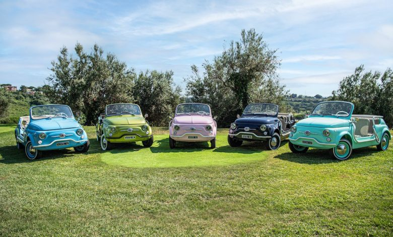 Fiat 500 Jolly Icon-e, Hertz orders new electric 'beach chairs' from Garage Italia