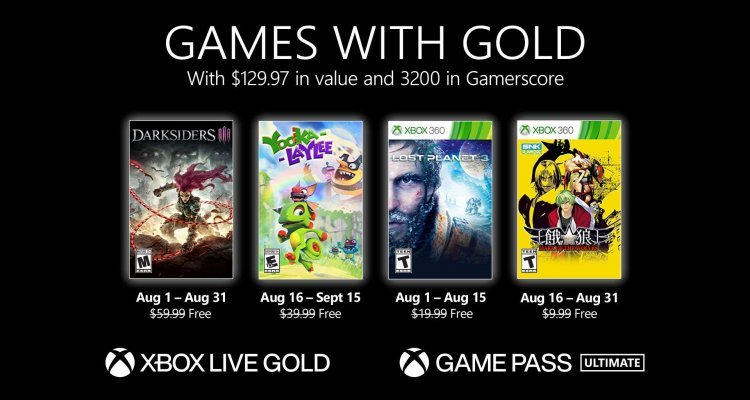 Free Games for Xbox Series X    S and One of the month - Nerd4.life