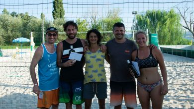 "Photo of ""Mystyny 2021"", beach volleyball show in San Feliciano di Magoni"