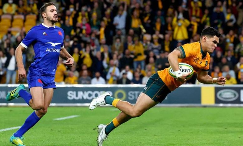 Rugby: Australia beat France, Argentina beat Cardiff