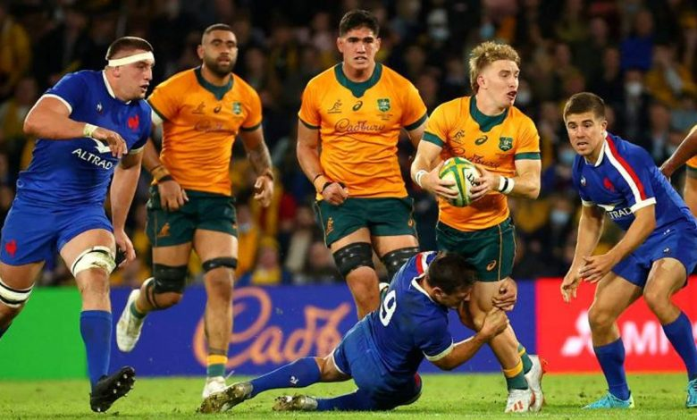 Rugby Test Match: Mad France win, Australia 23-21