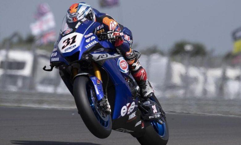 SBK 2021. UK Grand Prix: Garrett Gerloff ahead of everyone in Free Practice at Donington Park - Superbike