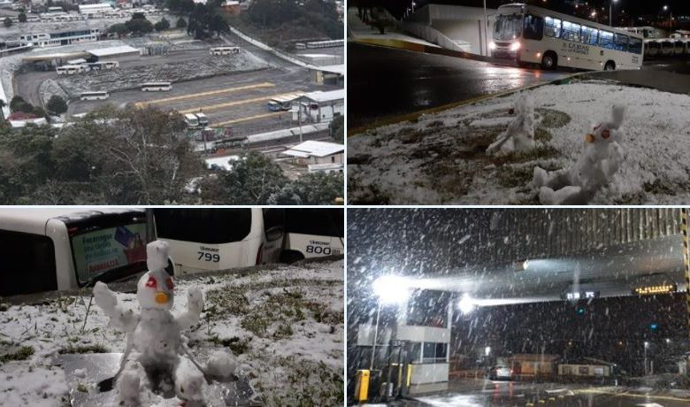Southern States in Frost Grip, Lots of Snow in Serra Gaucha [FOTO]