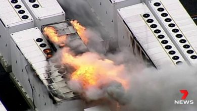 Photo of Tesla, a huge storage plant in Australia is burning: a 13-ton battery is to blame