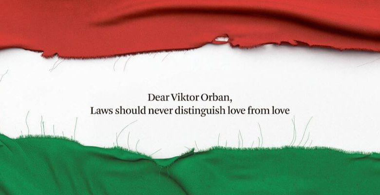 The Hungarian government wants to advertise in European newspapers