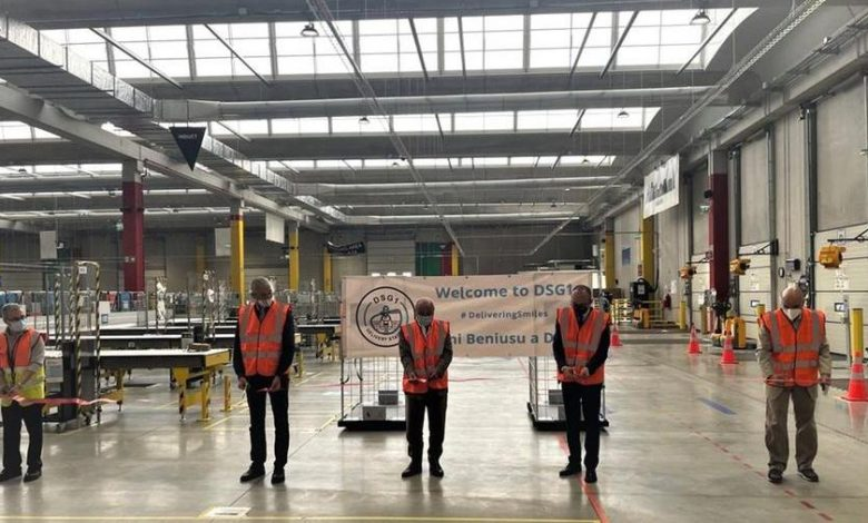 The first Amazon sorting warehouse opened in Sardinia