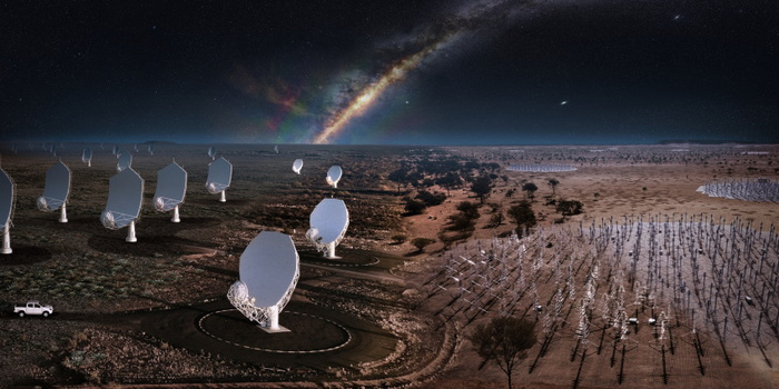 The green light to create the world's largest radio telescope network - space and astronomy