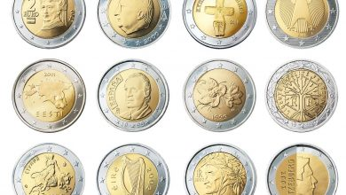 Photo of Two very rare 2 Euro coins that many are looking for because they are worth so much
