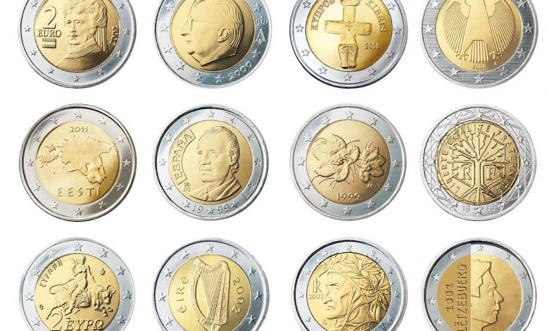 Two very rare 2 Euro coins that many are looking for because they are worth so much