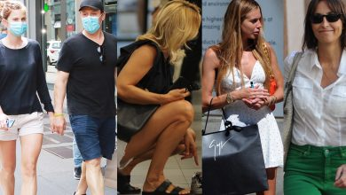 Photo of Italian VIP summer shopping, including vending and toy stores