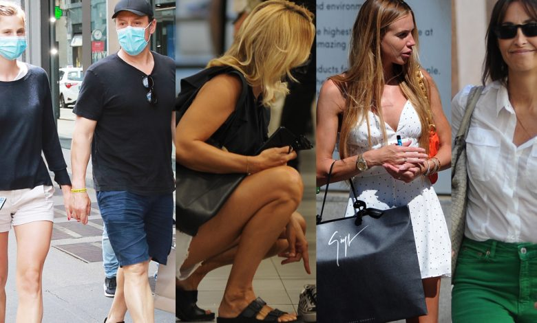 Italian VIP summer shopping, including vending and toy stores