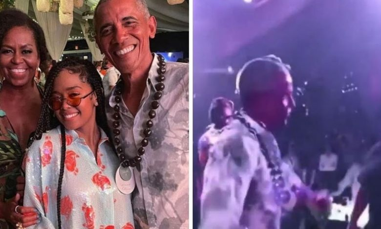 Barack Obama is 60 years old, and he's dancing hard on his birthday