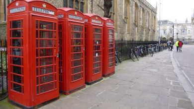 """Photo of From the United Kingdom: """"Columns of icons are designed like telephone boxes"""" – Navigation"""