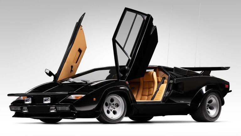 Lamborghini Countach, the movie version becomes an American icon