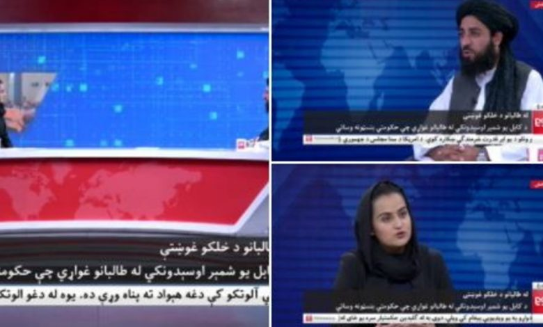 """""""The journalist interviewing the Taliban? Mashhad.""""  How did it really go - Libero Quotidiano"""