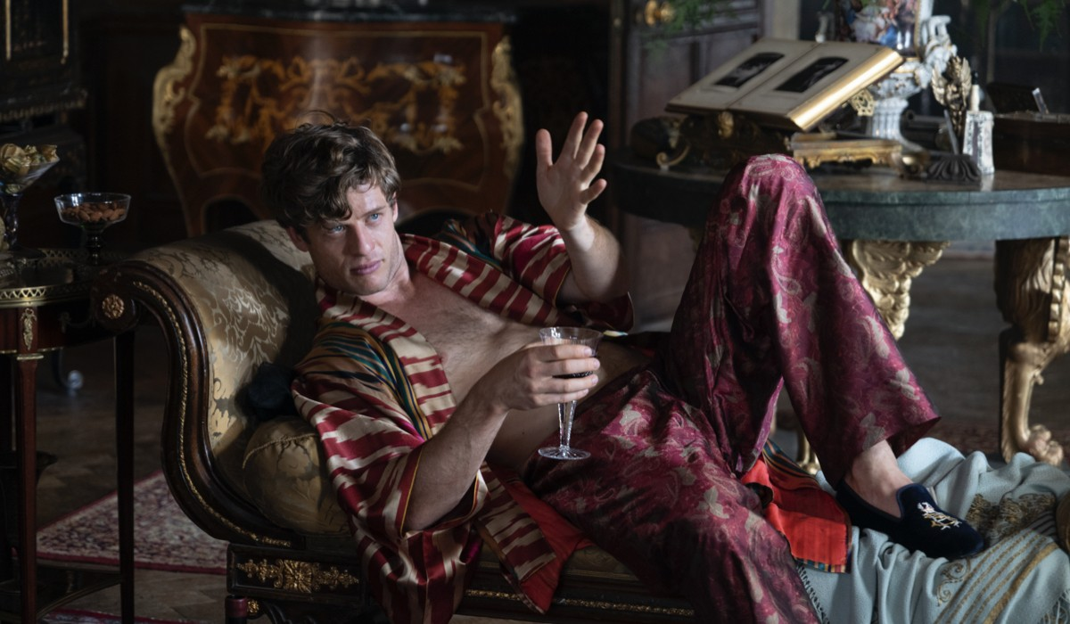 James Norton as Hugo Swan in a scene from the movie
