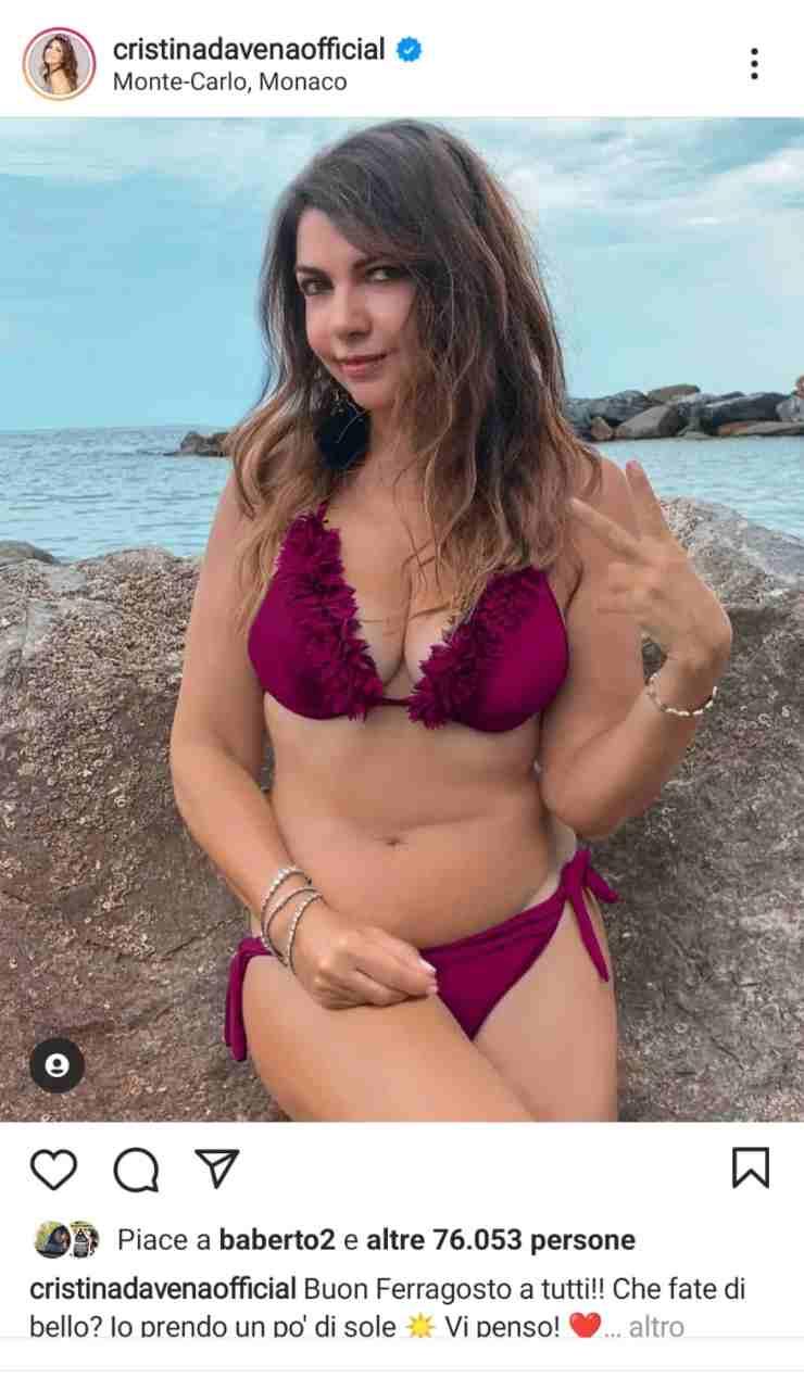 red bikini