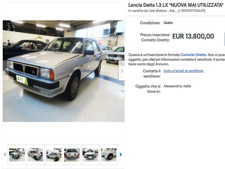 Delta Lancia for sale on eBay
