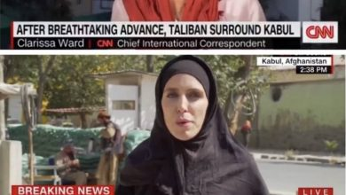 Photo of CNN journalist in hijab after the Taliban's arrival: What's behind this photo