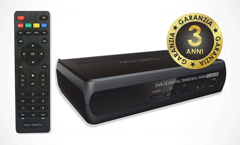 DVB-T2 Decoder and Media Center: View on AMAZON