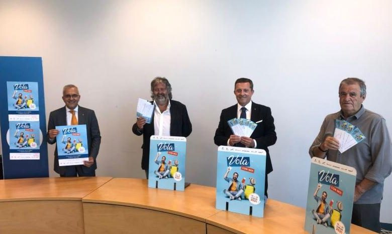 """Here are the winners of the """"Fly with us"""" program for travel from Cuneo Airport to Monaco, Trapani and Olbia."""