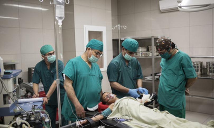 Emergency Hospital in Afghanistan Kabul Taliban