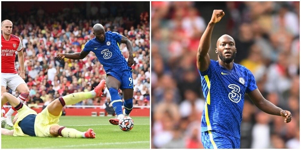 Lukaku, the opening goal: 15 minutes to lead Chelsea
