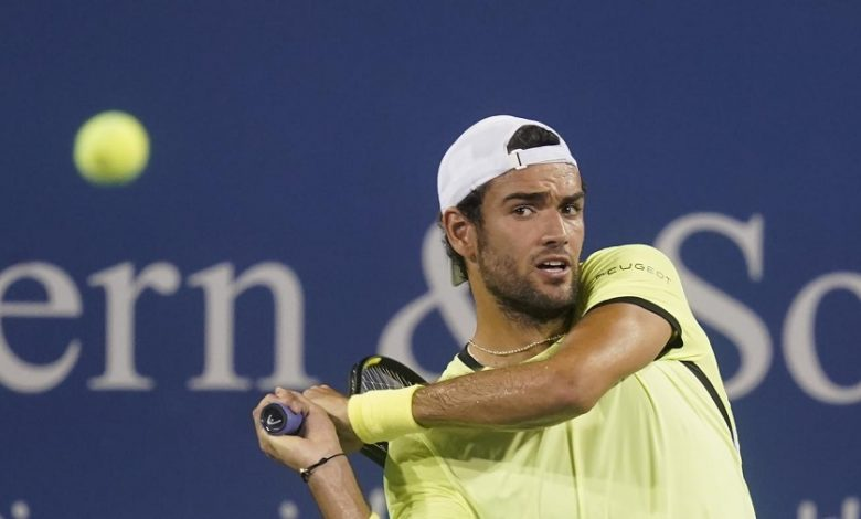Matteo Berrettini tennis and poor physical condition less than 10 days after the US Open - OA Sport