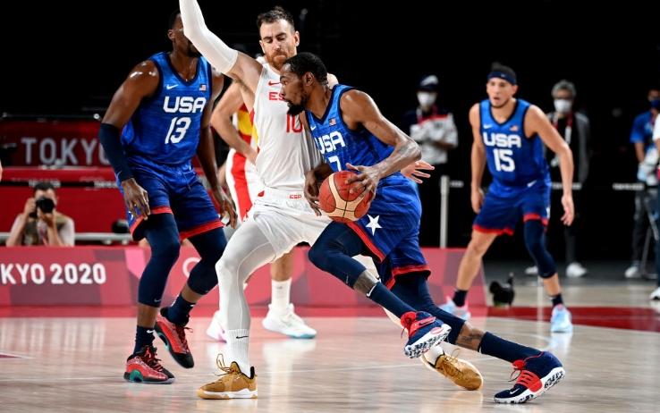 Spagna ko, Team USA in semifinale con 29 di Durant