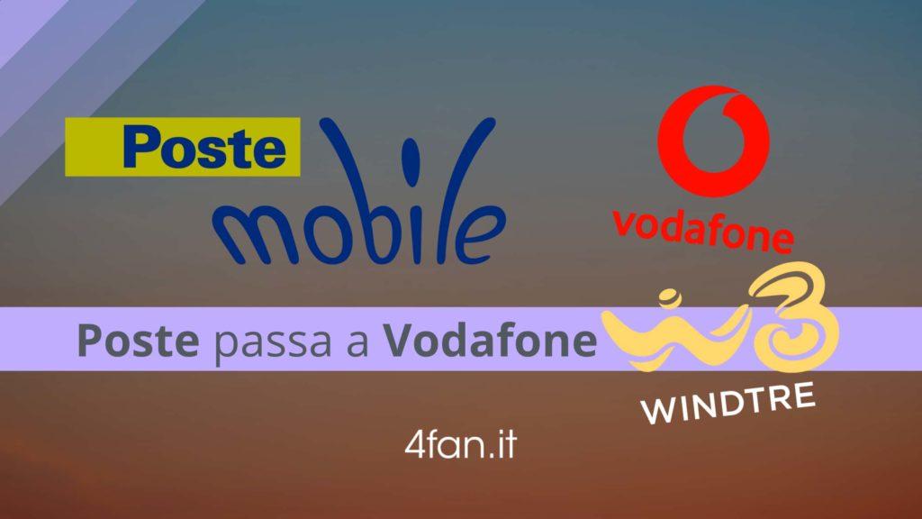 PosteMobile switches to Vodafone