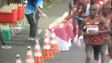 Photo of The shock gesture of a marathon runner: what he does to his opponents