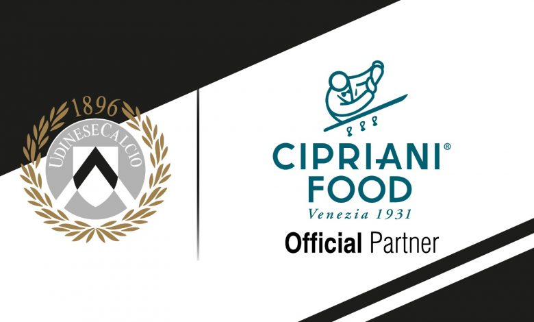 UDINESE and CIPRIANI, PARTNERS OF THE MARCH OF EXCELLENCE
