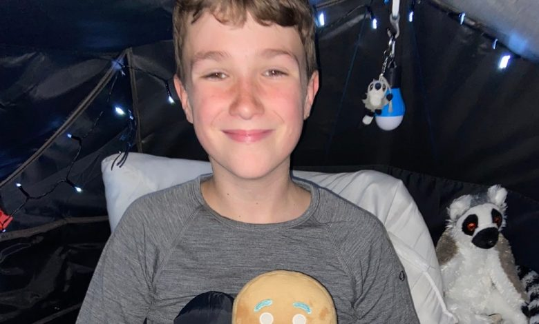UK, 500 straight nights in a tent: The helpful reason for an 11-year-old friend of his who died of cancer