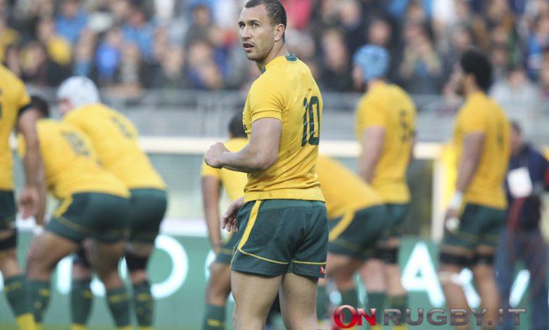 Australia: sempre più vicino il rientro di Cooper (e non solo) contro gli All Blackso ph. Sebastiano Pessina